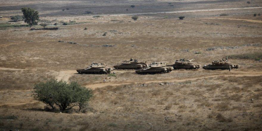 İsrail ordusu: Golan Tepeleri'ne atılan roket imha edildi