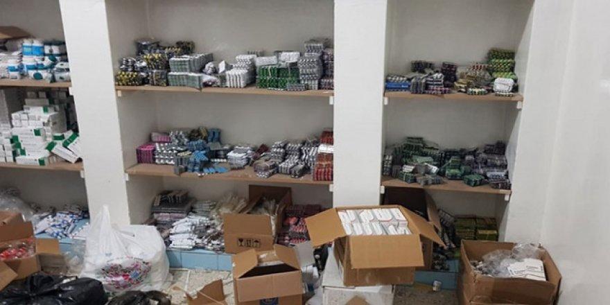 Gaziantep'te binlerce kaçak tıbbi ilaç ele geçirildi