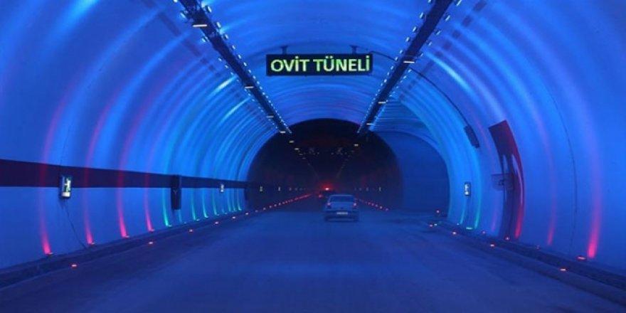 Ovit Tüneli ile 138 yıllık hayal gerçek olacak