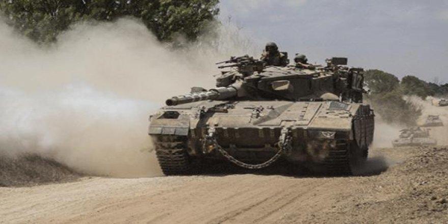İşgalci İsrail'den Kassam Tugayı bölgesine tank atışı