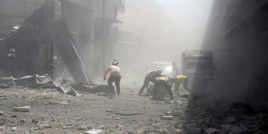 Esed rejiminden sivil yerleşim yerlerine saldırı