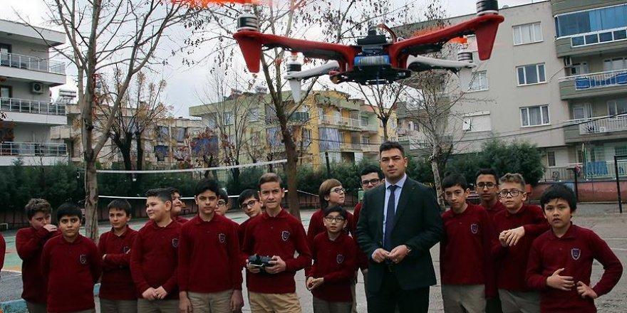 Kendi ürettikleri 'drone'ları uçuruyorlar