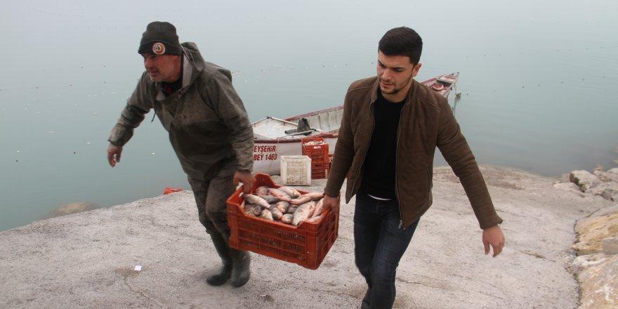 Beyşehir Gölü balıkçılarının yeni kısmeti: Çin sazanı