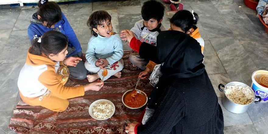 Terörden kaçan Suriyeli ailenin yaşam mücadelesi