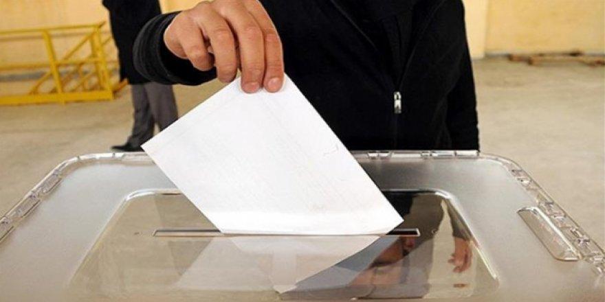 31 Mart yerel seçimlerinin oy pusulası belli oldu