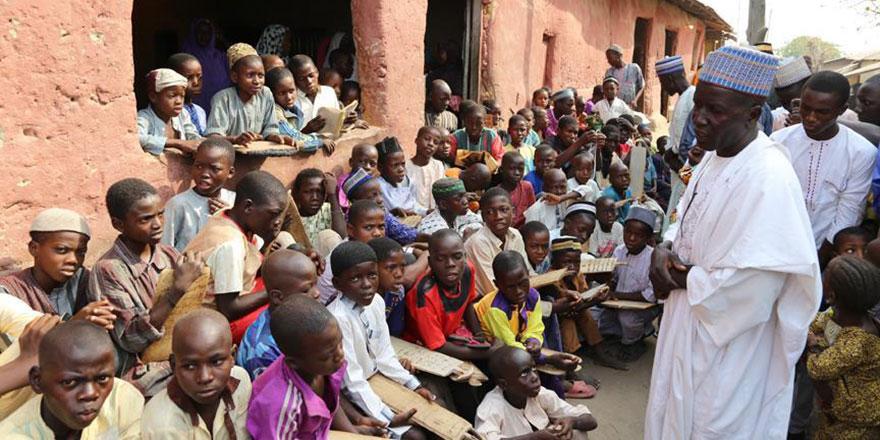 Nijerya'nın Almajirileri zor şartlarda bile hafızlığı ihmal etmiyor