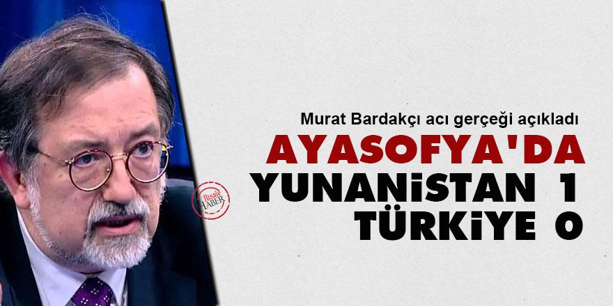 Murat Bardakçı: Ayasofya'da Yunanistan 1, Türkiye 0