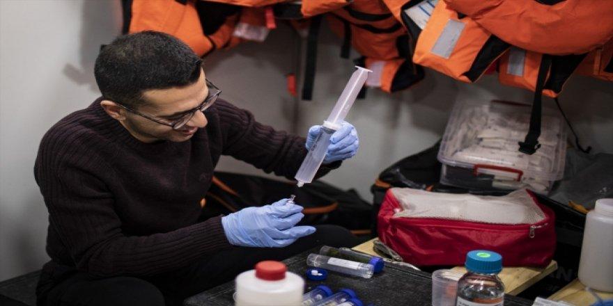 """Antarktika Türk bilim insanlarına """"laboratuvar"""" oldu"""
