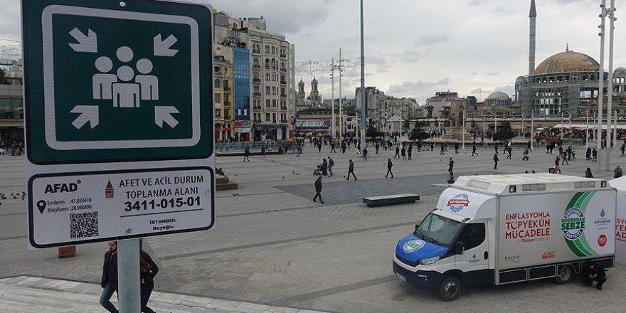 Beyoğlu'da afet durumunda 42 toplanma noktası var