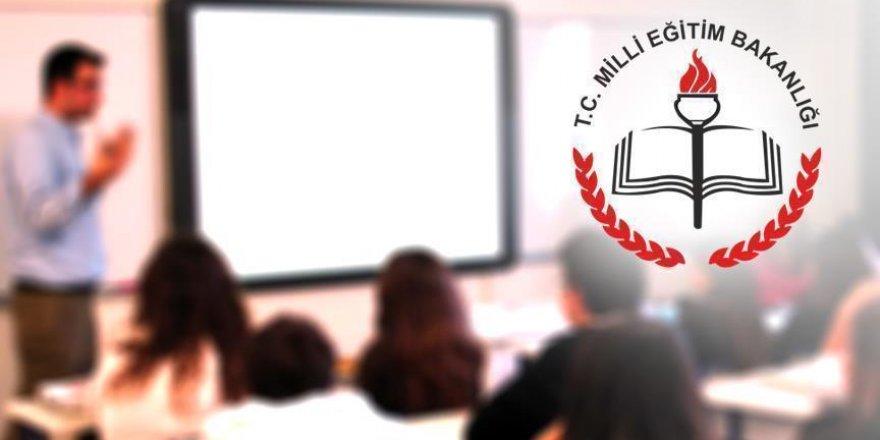 MEB'ten öğretmenleri ilgilendiren karar