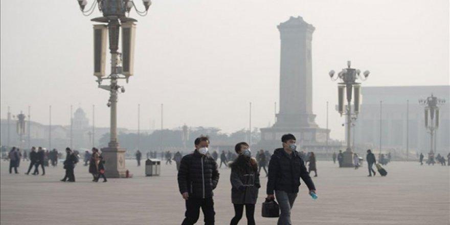 Çin'deki hava kirliliği seviyesi arttı
