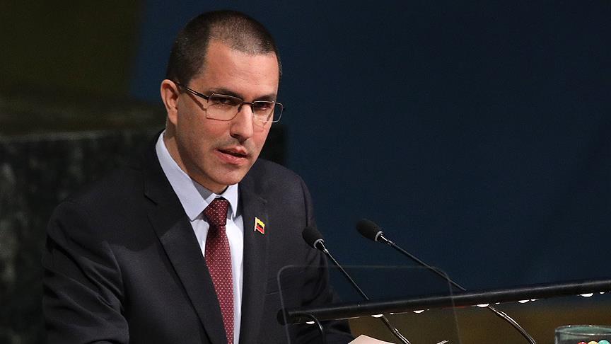 Arreaza: Venezuela OAS'den tamamen ayrılacak