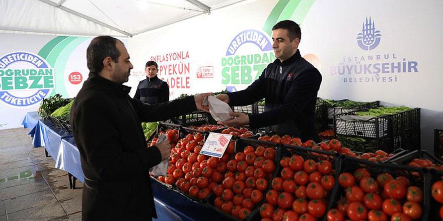 İstanbullular en çok domates aldı