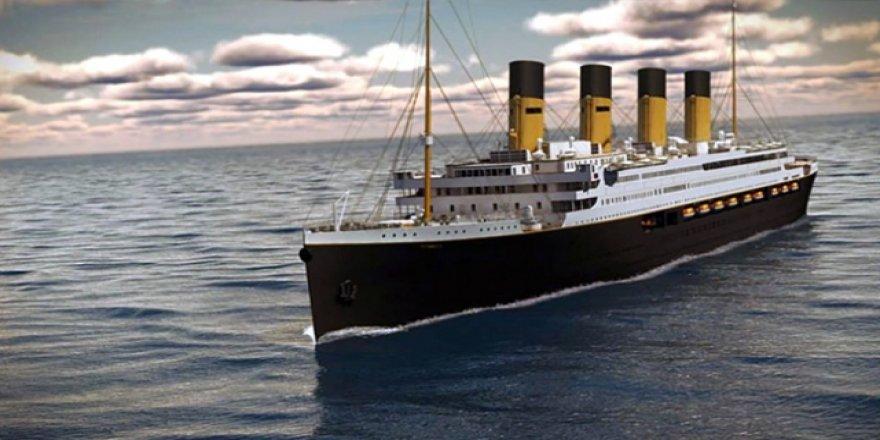 'Allah bile batıramaz' denilen Titanik'in ikincisi yapılıyor