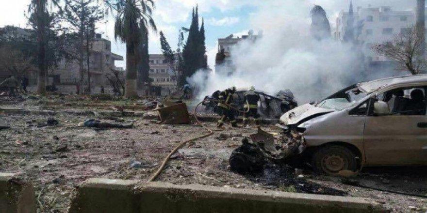 İdlib dün kabusu yaşadı