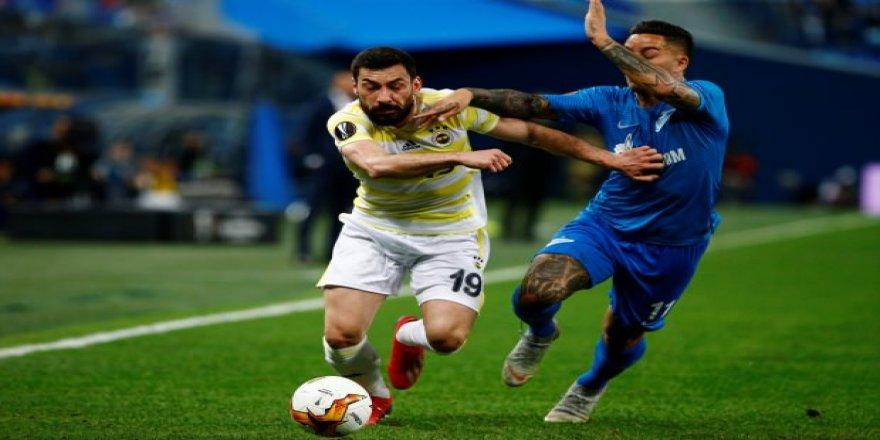 Fenerbahçe UEFA'dan elendi