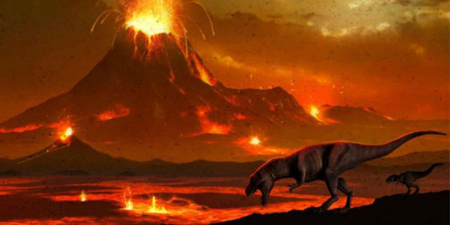 Dinozorların sonunu asteroit mi yoksa yanardağlar mı getirdi? Cevap: Allah!