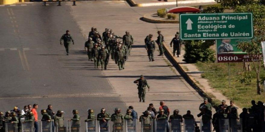 Venezuela'da iç savaş sesleri