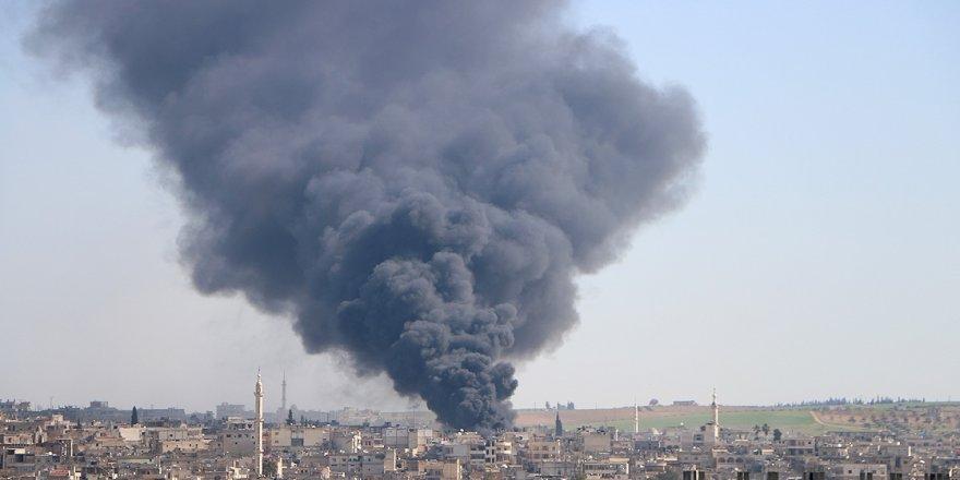 İdlib'te 5 sivil öldürüldü