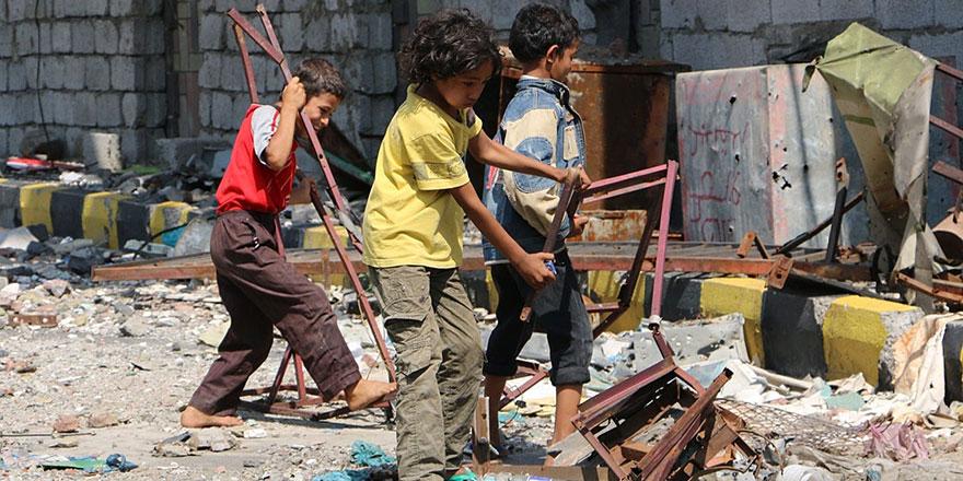 Yemen'de 1,2 milyon çocuk çatışmanın ortasında her gün 8'i öldürülüyor
