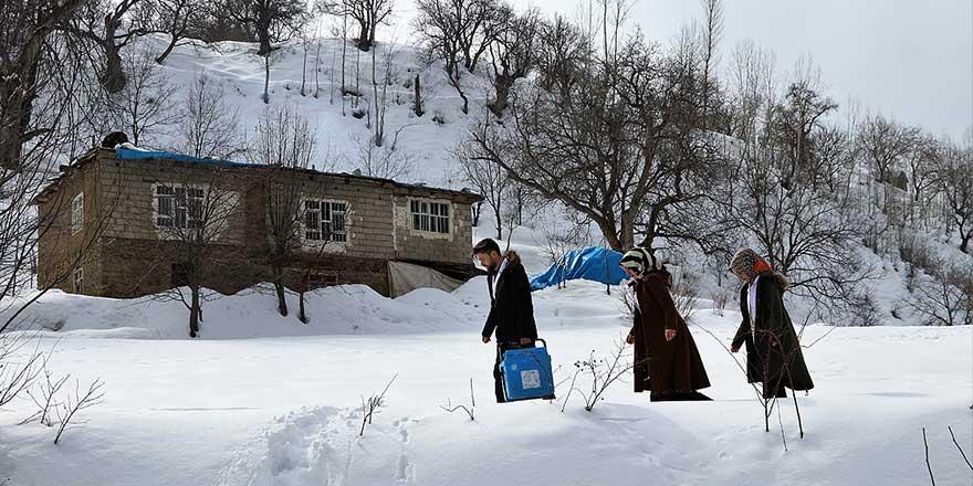 Doğu'da en düşük hava sıcaklığı Kars'ta ölçüldü
