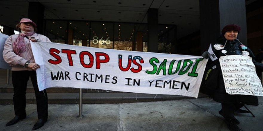 Yemen konusunda Suudilere şok protesto