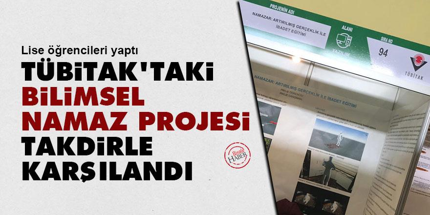 Tübitak'taki bilimsel namaz projesi takdirle karşılandı