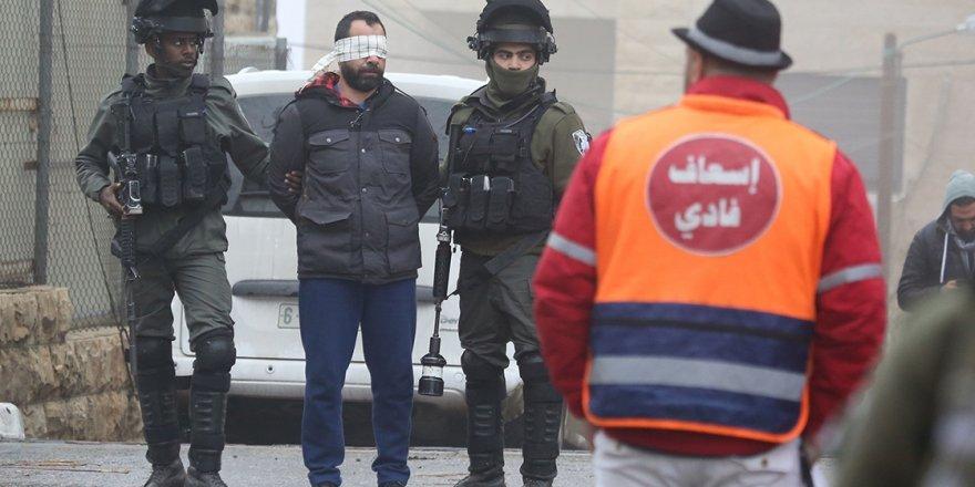 İşgalci İsrail Ramallah'ı bastı