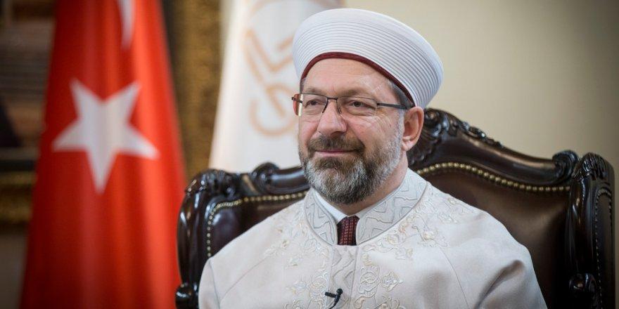 Erbaş: Bizim İslam'dan başka bir geleceğimiz yoktur