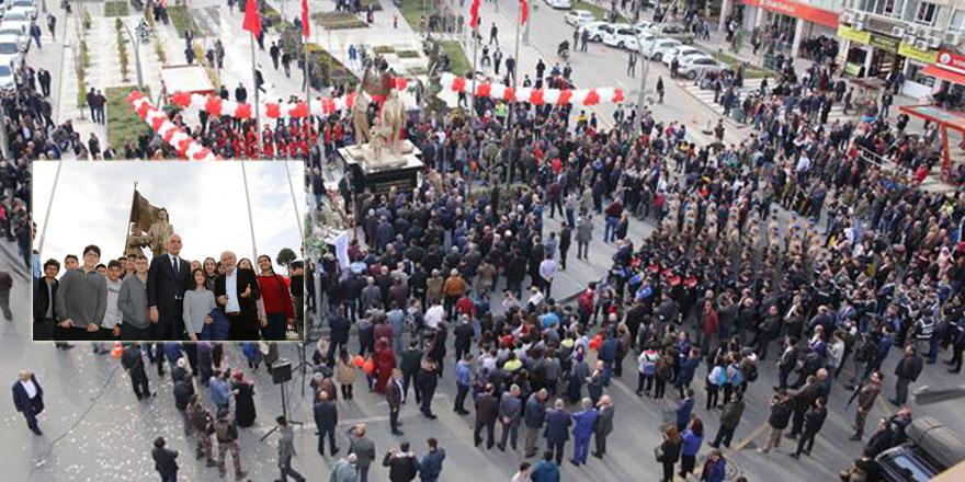 Batman'ın bütün dertleri bitti! Yeni bir Atatürk heykeli açıldı!