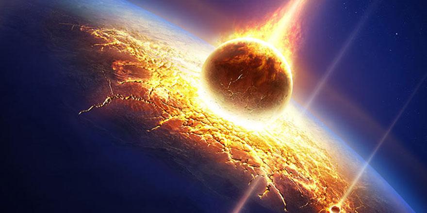 Atom bombasının 10 katı büyüklükte bir meteor patlamış