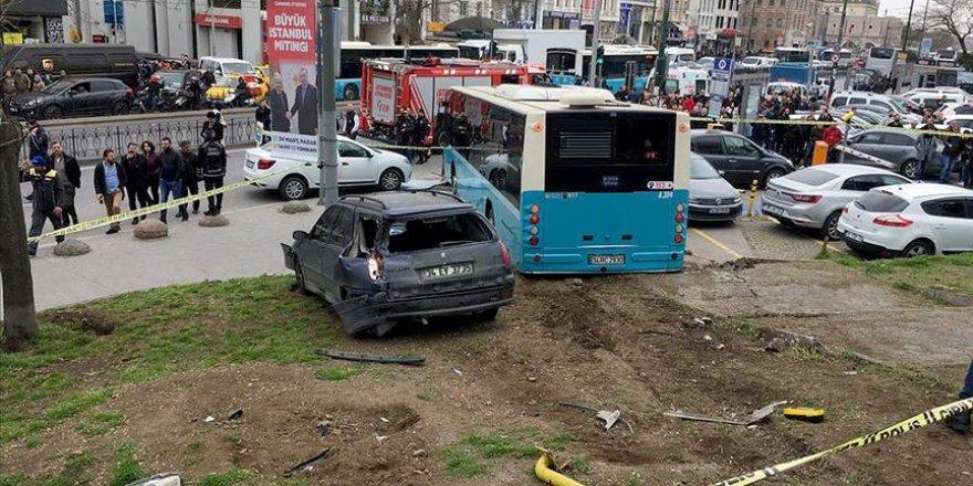 İstanbul'da felaketten dönüldü: 3 yaralı