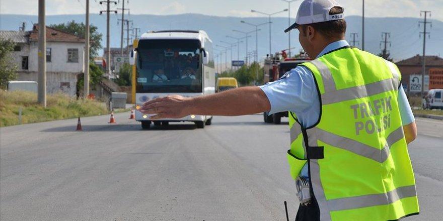 Yolcu otobüslerine sivil trafik denetimi
