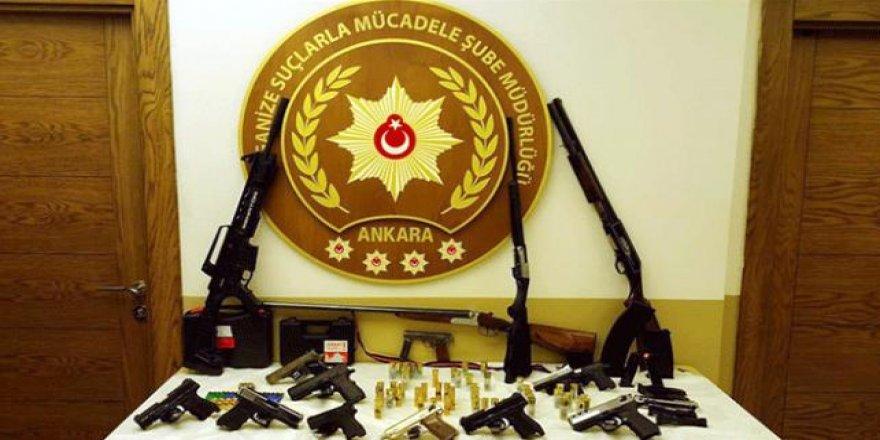 Ankara'da haraç çetesi çökertildi