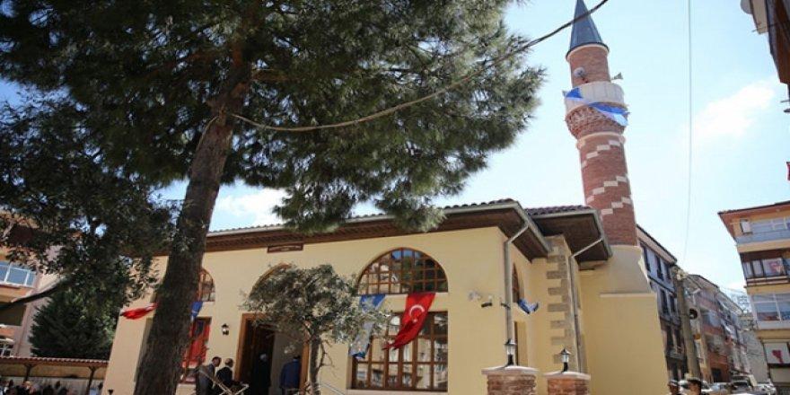 487 yıllık tarihi cami yeniden ibadete açıldı