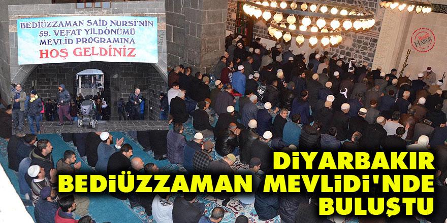Diyarbakır, Bediüzzaman Mevlidi'nde buluştu