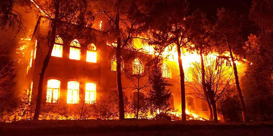 Liberya'da yatılı okulda yangın: 30 ölü