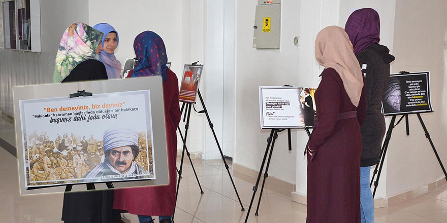 Üniversitede Bediüzzaman Said Nursi sergisi açıldı