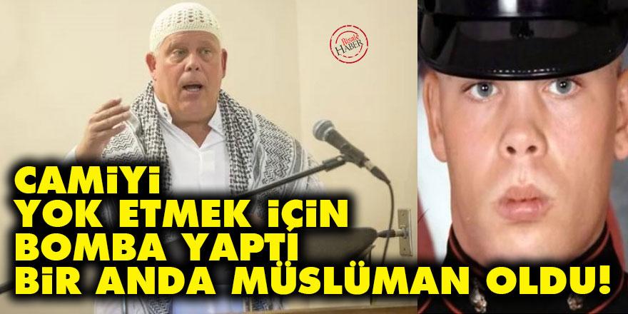 Camiyi yok etmek için bomba yaptı bir anda Müslüman oldu!
