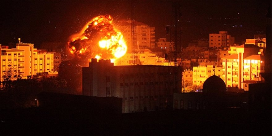 Ateşkese rağmen İsrail Gazze'yi vurmaya devam etti