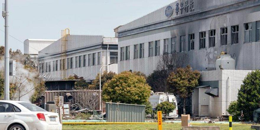 Çin'de fabrika deposunda patlama: 7 ölü, 5 yaralı