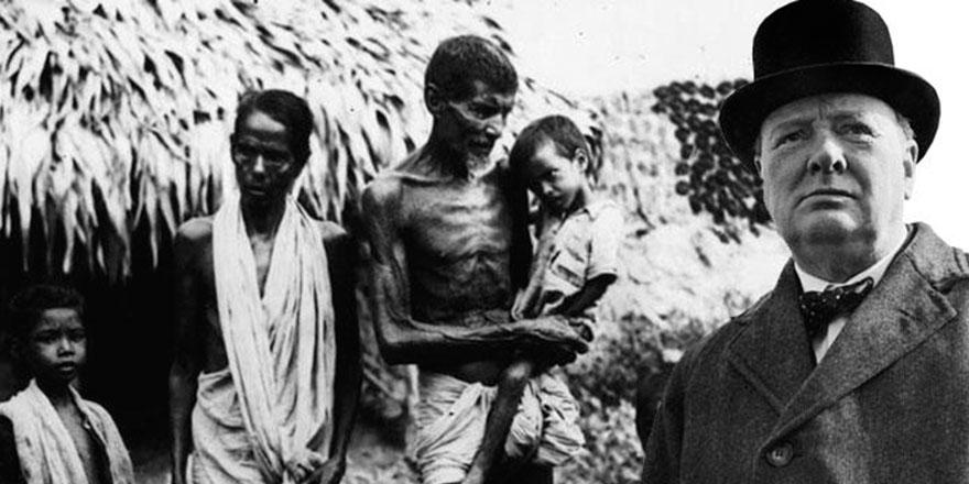 3 milyon insan Churchill yüzünden ölmüş