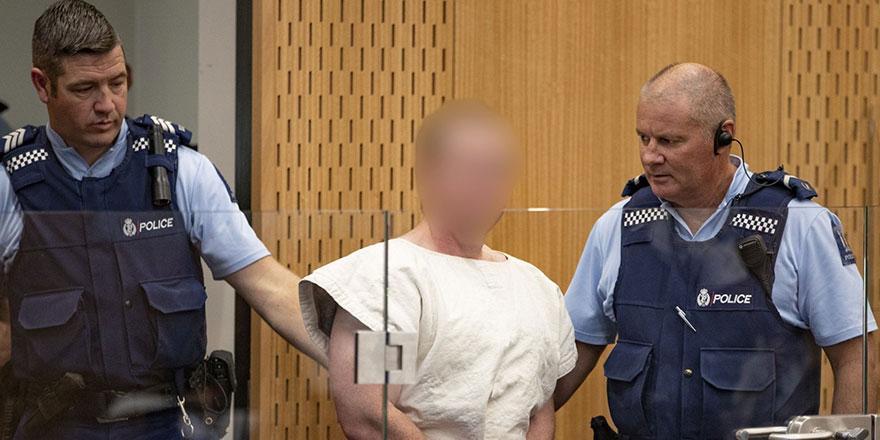 Yeni Zelanda medyasından cami saldırganı terörist için ders gibi karar