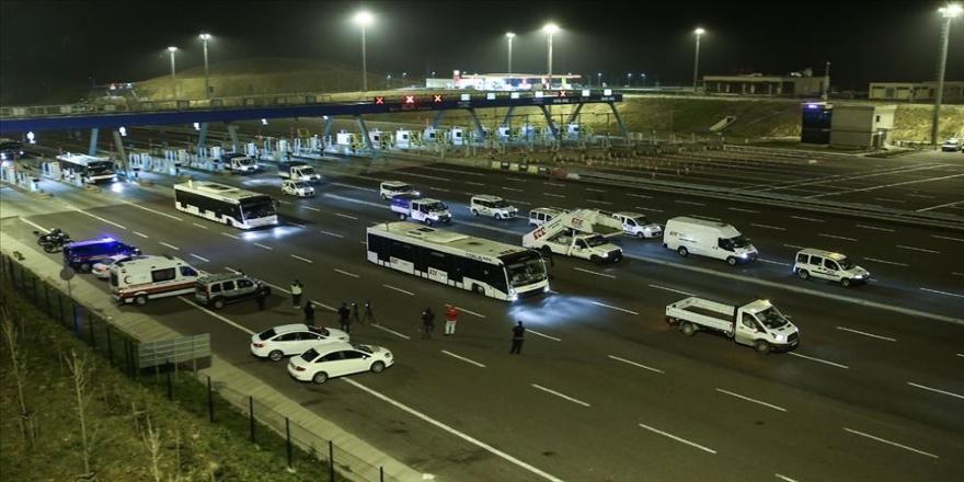 'Büyük Göç' nedeniyle kapanan yollar açıldı