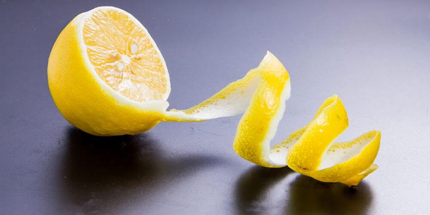 Limon kabuğunun bilinmeyen 10 şifası