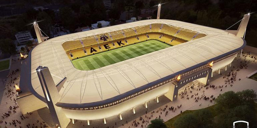 Yunan futbol kulübünün yeni stadının adı Ayasofya