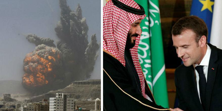 Gizli belge: Yemen'i Fransız yapımı silahlar vuruyor