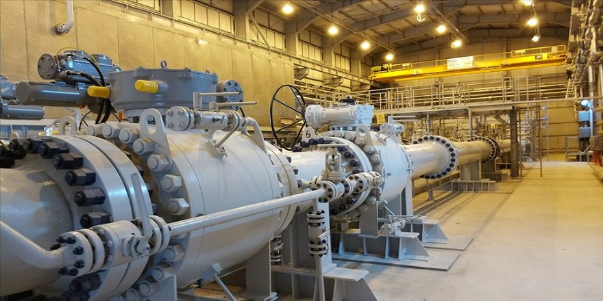 TANAP'tan bugüne kadar yaklaşık 9,1 milyar metreküp gaz akışı gerçekleşti