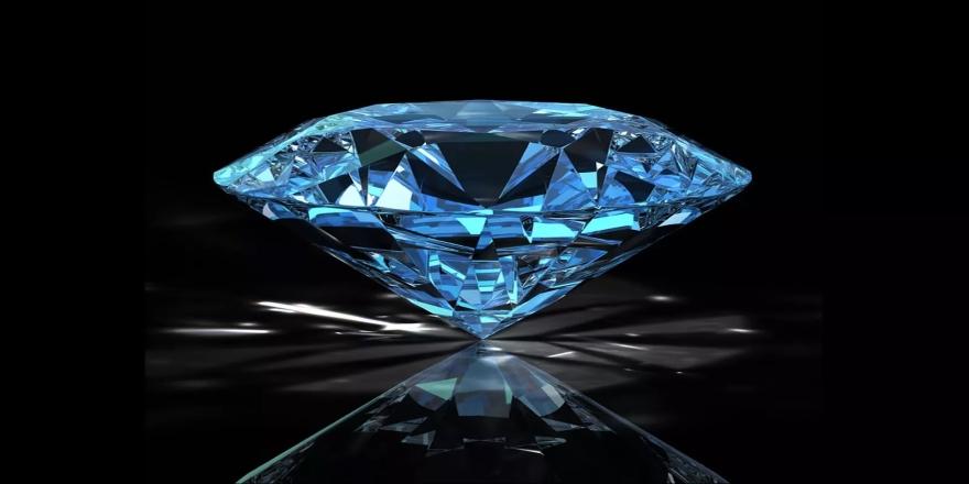 Nadir rastlanan mavi elmas bulundu