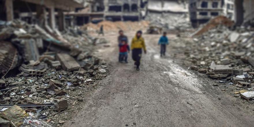 Hollanda'da Suriye için dayanışma gösterisi